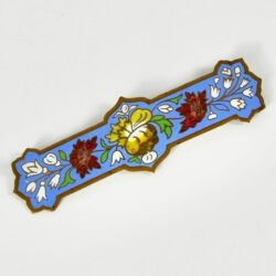 1930s french enamel brooch divine style french antiques 1