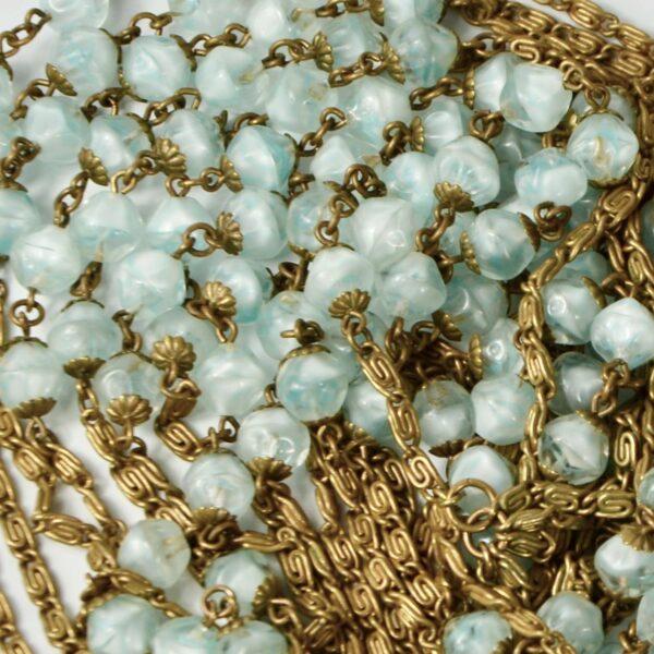 1920s sautoir flapper necklace givre beads 1920s divine style 6