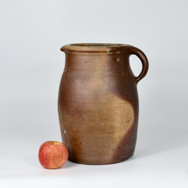 antique french stoneware jug 7 litres divine style french antiques 1