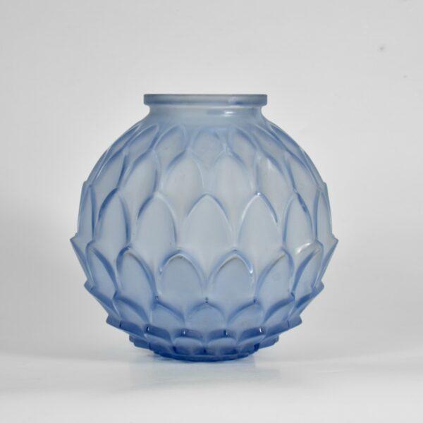 Pierre d'Avesn artichoke vase art deco divine style french antiques 2