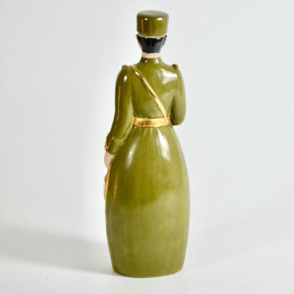 Robj Paris liquor bottle art deco brigadier general french ceramics 2
