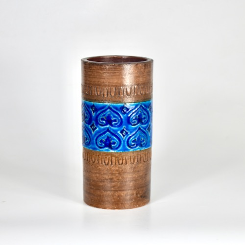 bitossi aldo londi cylinder vase 1960s divine style french antiques (1)