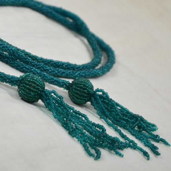 1920s beaded lariat necklace wiener werkstätte divine style french antiques 3