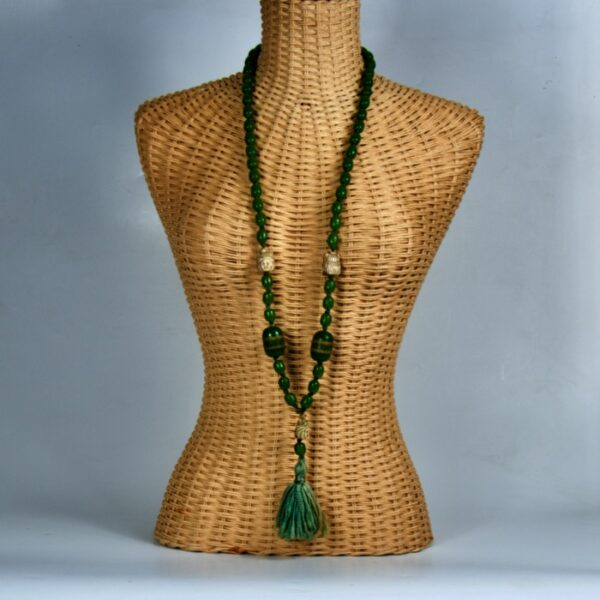 1920s lariat necklace bakelite Max Neiger style divine style french antiques