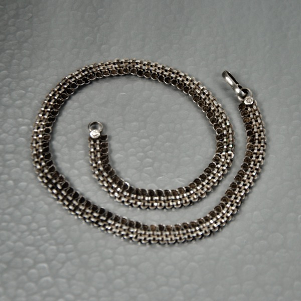 vintage rajahstan silver necklace divine style french antiques 1