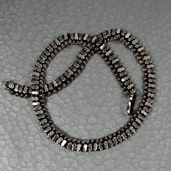 vintage rajahstan silver necklace divine style french antiques 2 (1)