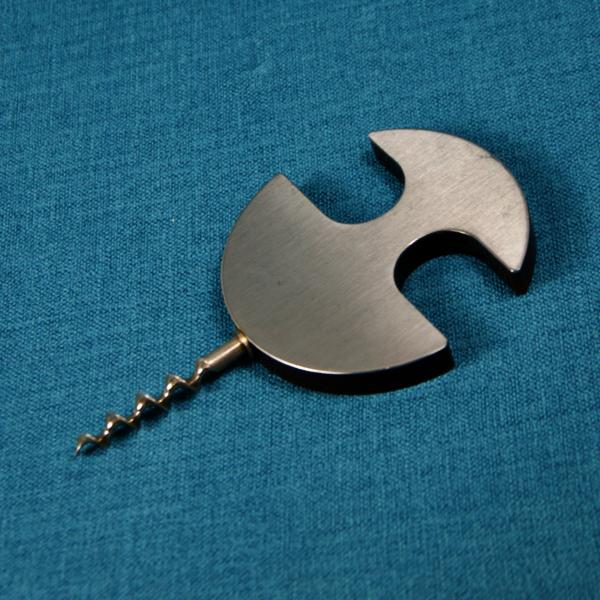 1960s french designer corkscrew 1970s retro brushed steel modernist plastic 4