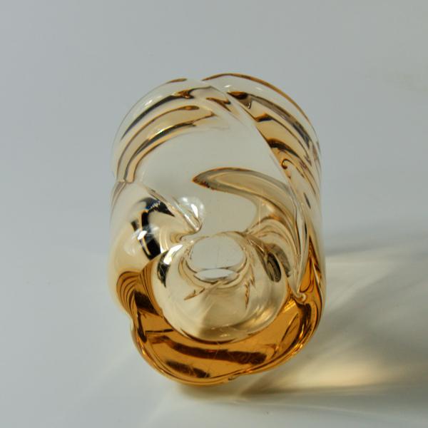Daum Nancy large crystal vase mid century modern 1950s french glass (1)