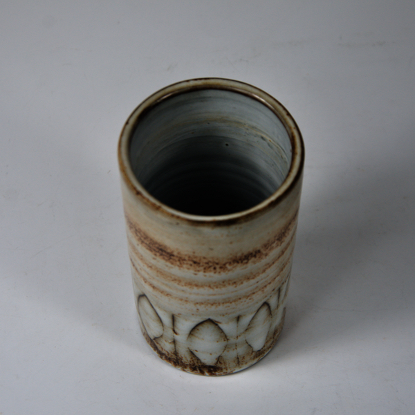 Jacques Pouchain vase atelier dieulefit 1960s french ceramic mid century modern pottery