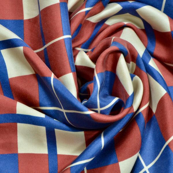 Yves Saint Laurent vintage silk scarf 1970s YSL French designer silk scarf 2