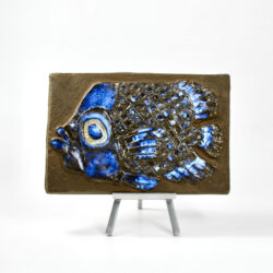 Royal Copenhagen Fish Wall plaque Inge Lise Koefoed - denmark mid century 1960s scandinavian pottery 2 (1)