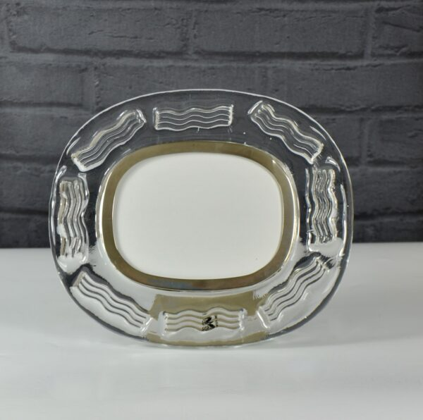 Vintage Seguso Murano picture frame limited edition mid century Venetian glass photo frame 4