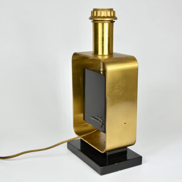 large 1970s table lamp with abstract decor 6 (1)