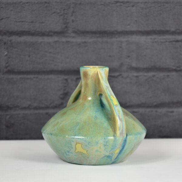 early pierrefonds pottery crystalline vase French art nouveau ceramic 1920 2
