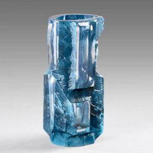 Daum crystal Cesar Argos vase