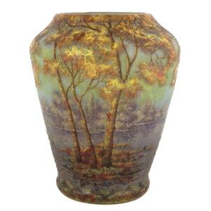 daum nancy cameo vase