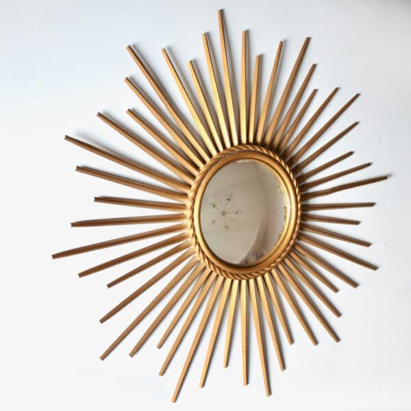 Chaty Vallauris mid century convex mirror, 1950s French vintage mirror