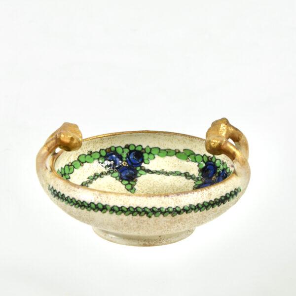 Ernst Wähliss Art Nouveau enamelled bowl Austria 2