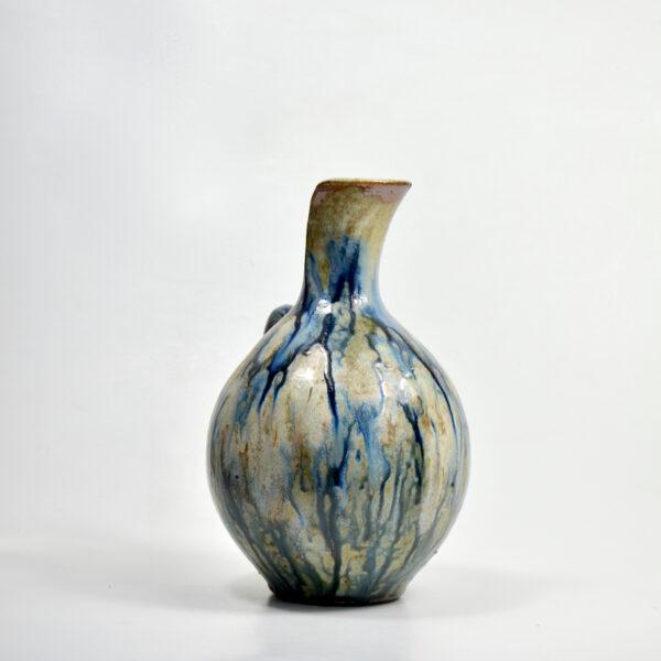 Roger Guerin Bouffioulx Art Deco glazed stoneware pitcher vase 1930s Belgium art pottery 2