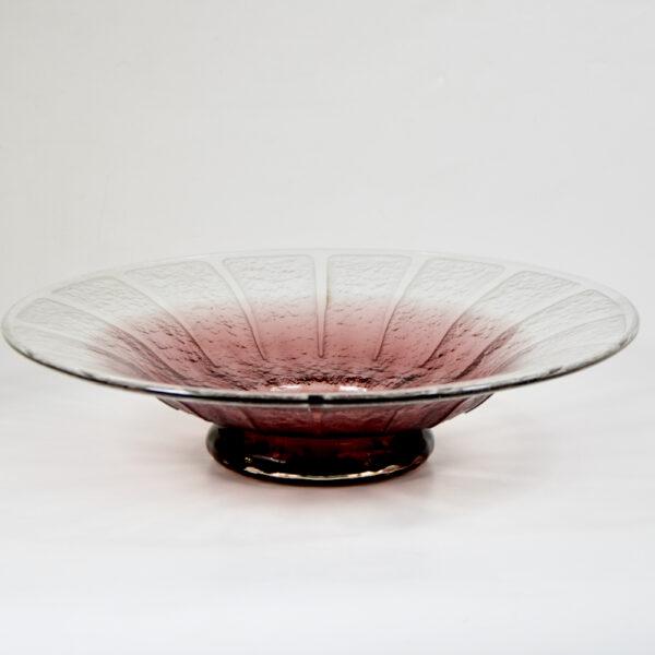 Schneider etched glass bowl 1930 6