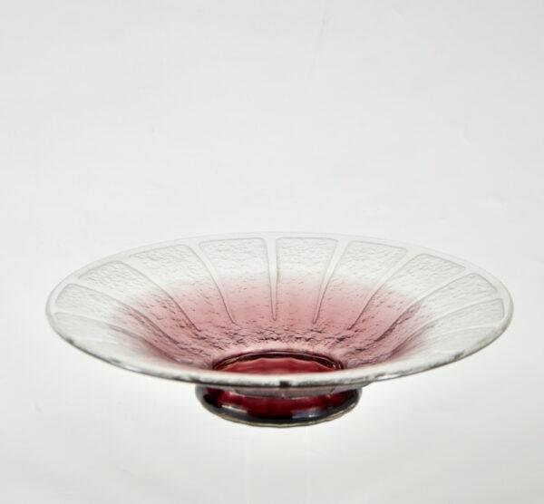 Schneider etched glass bowl 1930
