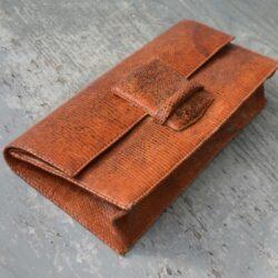 vintage 1970s snakeskin clutch bag purse (2)